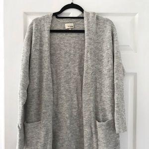 Wilfred grey cardigan